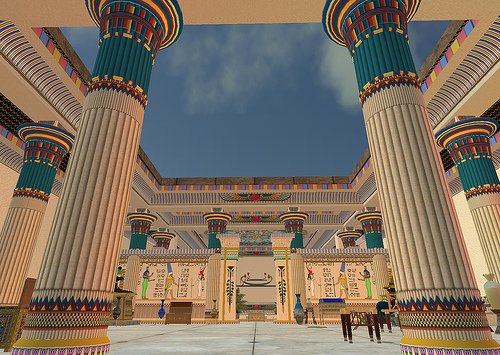 Mesopotamian and egyptian culture s7hauhe for Architecture design company in egypt