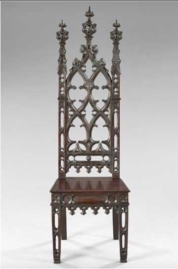 American Gothic Revival Furniture